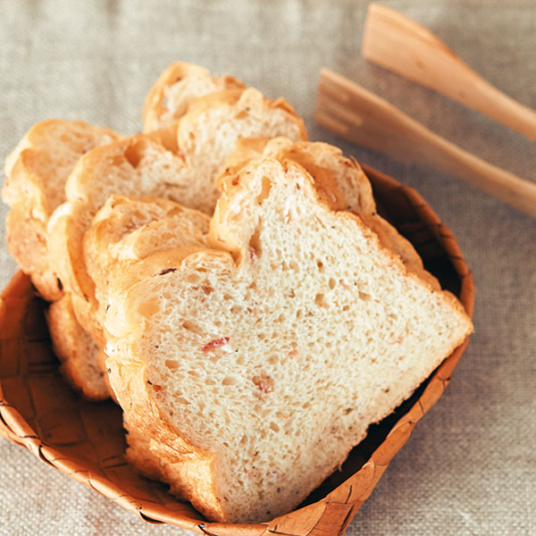 じゃがいもとベーコンのパン