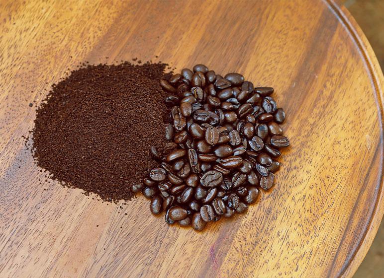 コーヒー豆とコーヒー粉に両対応 お好みのスタイルで淹れられる