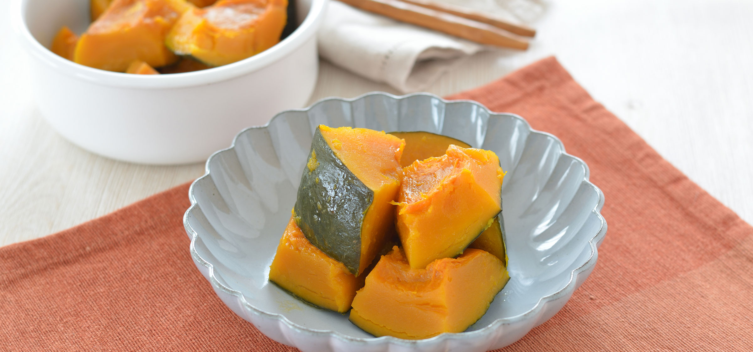 ≪ちょりママ考案≫かぼちゃの塩バター煮
