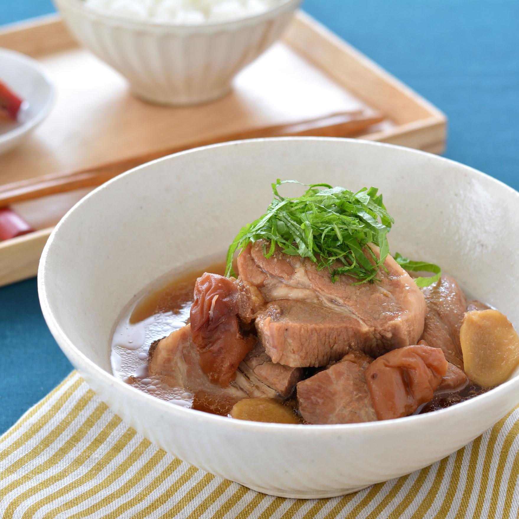 ≪ちょりママ考案≫豚肉の梅煮